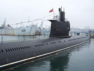 Romeo-class submarine - A Chinese Type 033 submarine