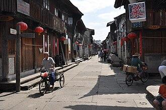 Linhai - Ziyang ancient street