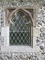 -2019-02-21 Window, Parish church of Saint John the Baptist's head, Trimingham (3).JPG