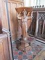 -2020-02-07 Art nouveau lectern, Saint Nicholas Church, Trunch Road, Swafield.JPG