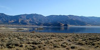 Weldon, California - Weldon and neighboring South Lake sit on the southeast tip of the Lake Isabella, in the picture at far left