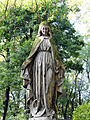 041012 Sculpture and architectural detail at the Orthodox cemetery in Wola - 05.jpg