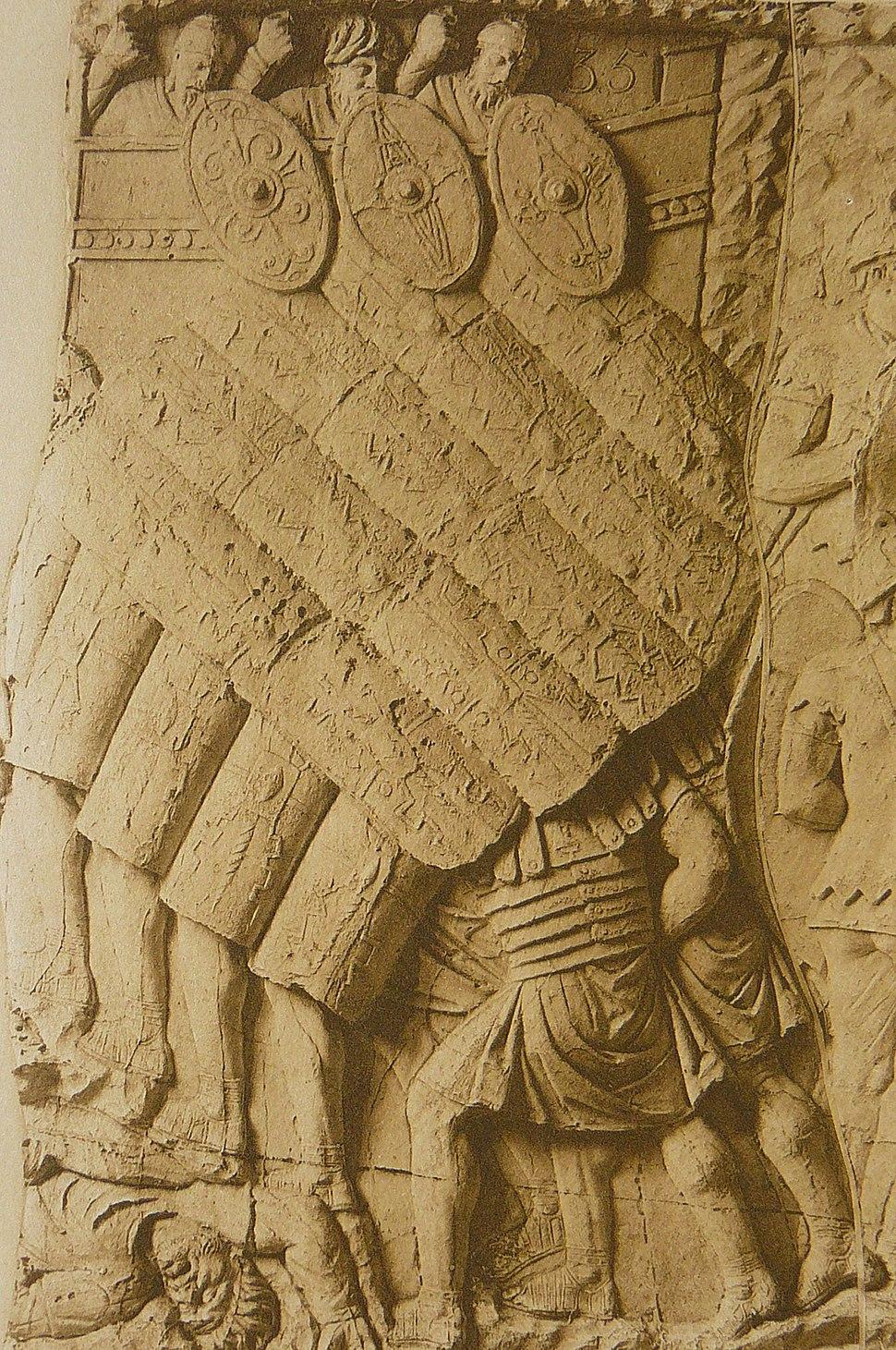 051 Conrad Cichorius, Die Reliefs der Traianssäule, Tafel LI (Ausschnitt 01)