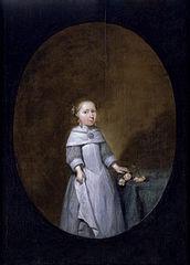 Portrait of Lijsbeth Craeyvanger (1653–?)