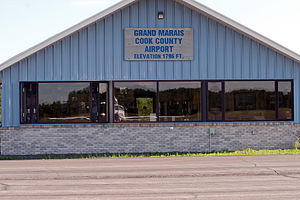 Grand Marais/Cook County Airport - Image: 090704 Grand Marais Cook County Airport