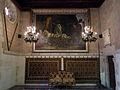 097 Castell de Santa Florentina (Canet de Mar), la Llegenda de les Quatre Barres, de Pablo Béjar.JPG