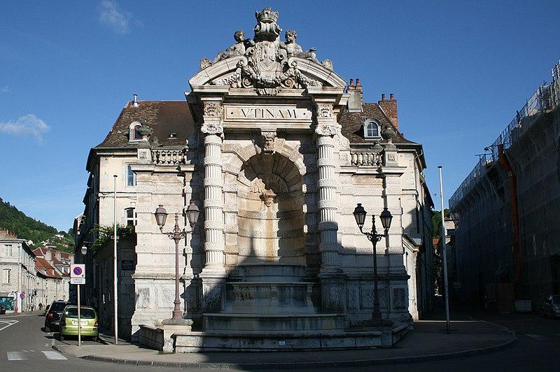 File:0 Besançon - Fontaine de l'État-Major (3).JPG