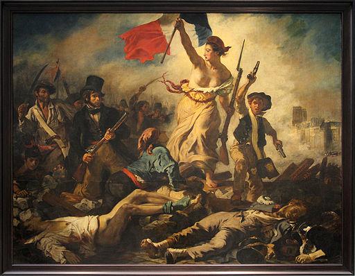 0 La Liberté guidant le peuple - Eugène Delacroix