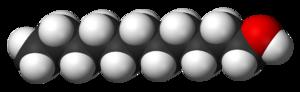Undecanol - Image: 1 Undecanol 3D vd W