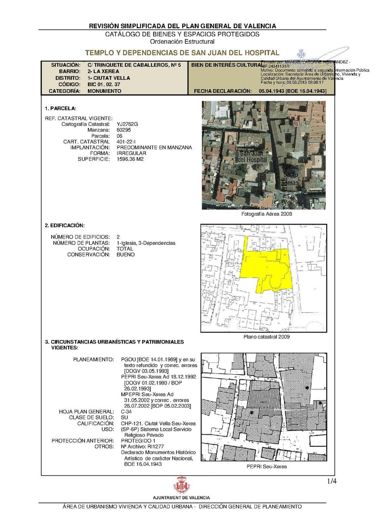 File:1 37 TEMPLO Y DEPENDENCIAS DE SAN JUAN DEL HOSPITAL firmado pdf