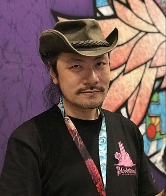Bloodstained: Ritual of the Night - Producer and scenario writer Koji Igarashi at the 2017 New York Comic Con