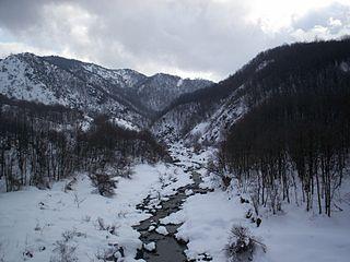 Piota river in Italy