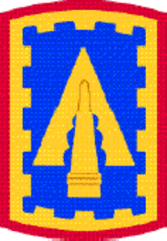 108th Air Defense Artillery Brigade (United States) - Shoulder sleeve insignia