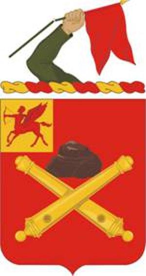 10th Field Artillery Regiment - Image: 10FARegt COA