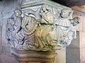 112 Castell de Santa Florentina (Canet de Mar), capitell del saló del tron.JPG