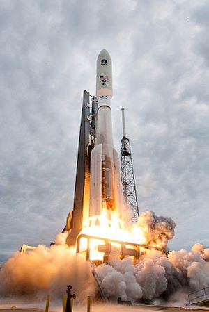 Evolved Expendable Launch Vehicle - Atlas V liftoff from SLC-41.