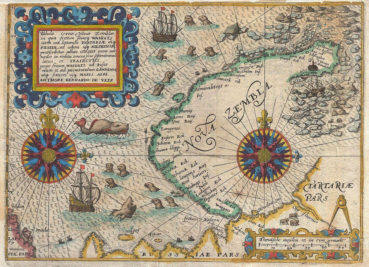 Arctic explorer Willem Barentsz foresaw northern passage in 1596
