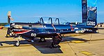 160280 Beechcraft T-34C Turbo-Mentor Strike Fighter Weapons School Atlantic (SFWSL) (44893776072).jpg