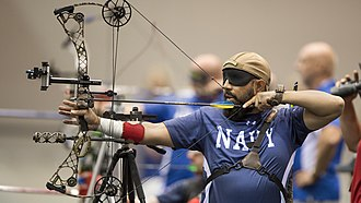 Warrior Games - Archery at the 2017 games
