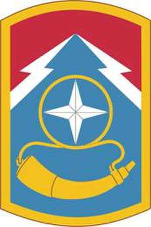 174th Infantry Brigade (United States) - 174th Infantry Brigade shoulder sleeve insignia