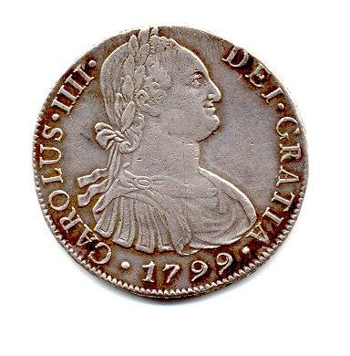 1799 Carlos III Real Obverse