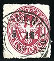 1866 Prussia Landsberg Warthe GorzowWielkopolski Mi16.jpg