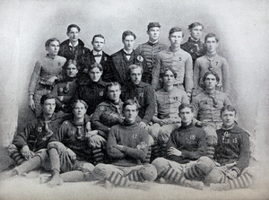 1897 Clemson Tigers football team - Image: 1897 Clemson Tigers football team