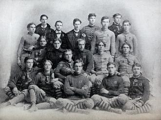 1897 Clemson Tigers football team - Image: 1897 Clemson Tigers football team