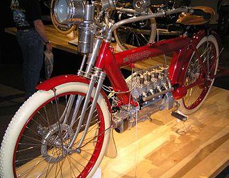 Pierce Four - Image: 1910 Pierce Four (1) The Art of the Motorcycle Memphis
