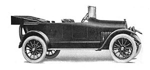 Jeffery (automobile) - 1916 Jeffery Touring Car