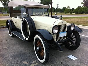 Vintage car - 1921 Hudson Super Six phaeton