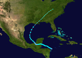 1932 Atlantic tropical storm 11 track.png