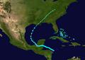 1932 Atlantic tropical storm 11 track.png