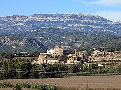 193 Vernet, la serra Grossa i el Montsec de Rúbies des d'Artesa de Segre.JPG