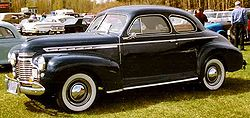 Chevrolet Special Deluxe Serie AH Business Coupé (1941)