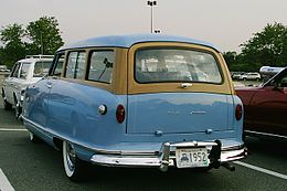 1952 Nash Rambler blue wagon rear.jpg