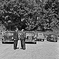 1957 Visite du ministre de l'agriculture Mr ANDRE DULIN au CNRZ-28-cliche Jean Joseph Weber.jpg