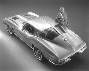 Chevrolet Corvette (C2) - 1963 Corvette Sting Ray Coupe