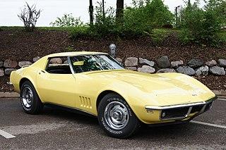 Chevrolet Corvette (C3) Motor vehicle