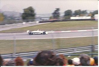 Héctor Rebaque - Rebaque No.6 Parmalat 1981 Canadian Grand Prix Montreal