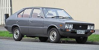 Hyundai Pony - 1982 Pony GLS hatchback