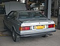 1989 Maserati 222, rear view (hood open, in Valhalla).jpg