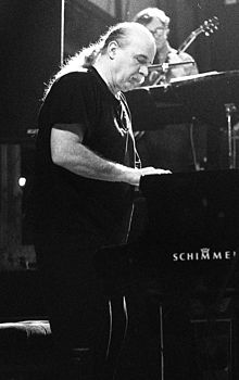 Dauner performing with the United Jazz and Rock Ensemble, 1992