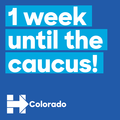1 week until the caucus! Colorado.png