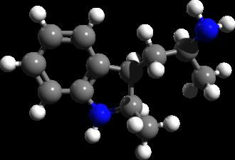 2,alpha-DMT - Image: 2,alpha DMT 3d structure