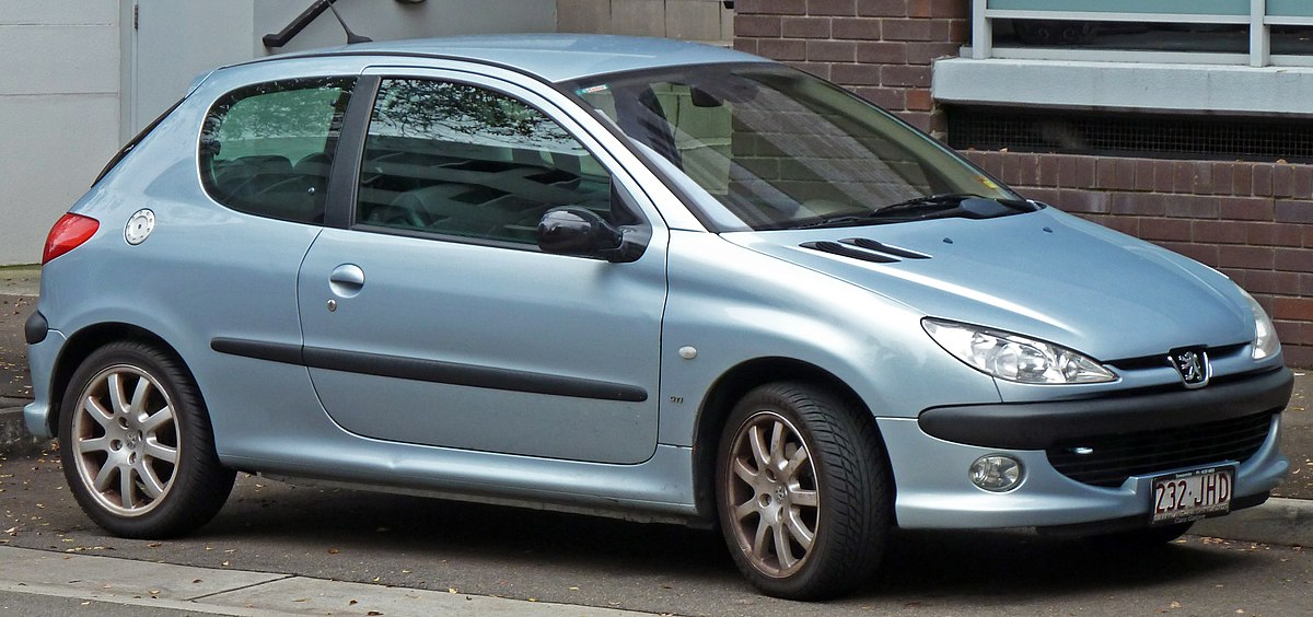 PEUGEOT 206 XSI 1.6 Petrol 2000 car Battery