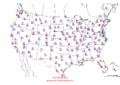 2002-10-08 Max-min Temperature Map NOAA.png