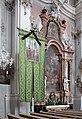 20050903085DR Toblach (Bozen) Pfarrkirche Johann Baptist Seitenaltar.jpg
