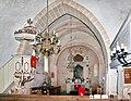 20070519315DR Arnsdorf (Vierkirchen) Kirche St Katharinen zum Altar.jpg