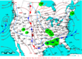 2008-02-21 Surface Weather Map NOAA.png